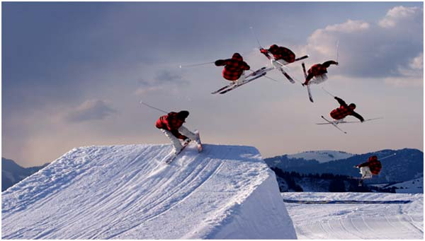 Alpine and Freestyle Skiing in the Winter Olympics
