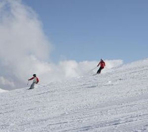 Skiing in South America